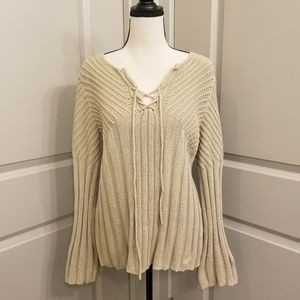 Express Flare Hippie Sweater